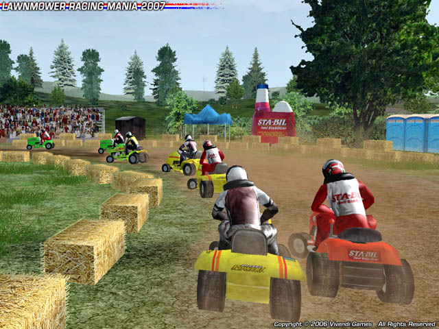 Westward MOW! STA-BIL Lawn Mower Racing On July 4th Will Kick