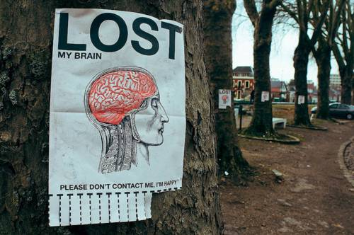 What do you do when your mind is housed in your brain and your brain is elsewhere?