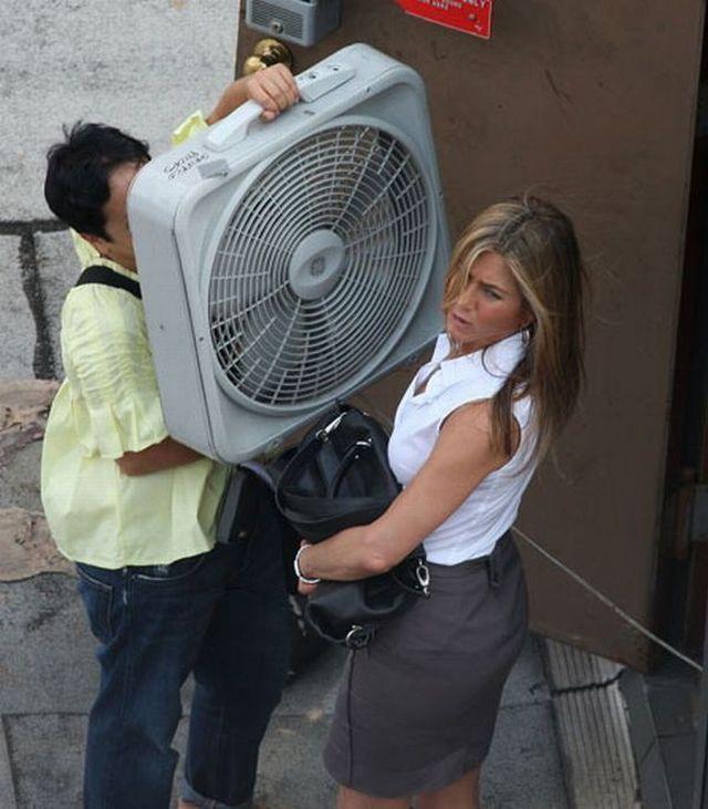 Jennifer Aniston's biggest fan