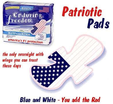 Scurvy Jane becomes patriotic to the max