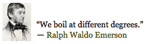 Ralph Waldo Emerson QUOTE boil - shouts out to the Dance Master - pic - Charlie Kazfranco