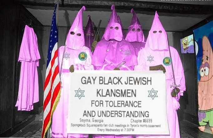 Sugartastic Daddy John And The Gay, Black, Jewish Klansmen For Tolerance And Understanding