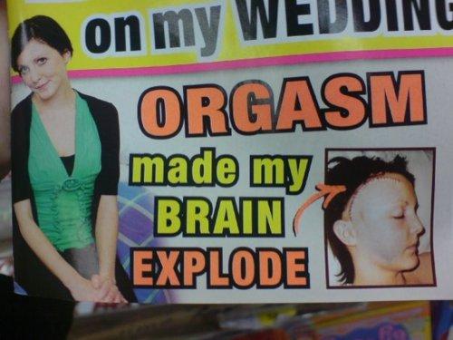 I made her orgasm