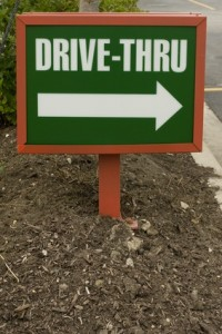 A Drive-Through Is for Simple Things