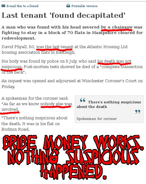 Bribe Money Works