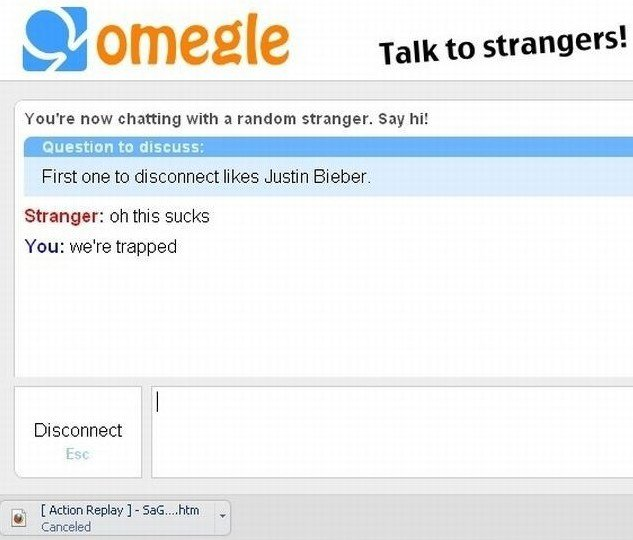 First one to disconnect likes Justin Bieber