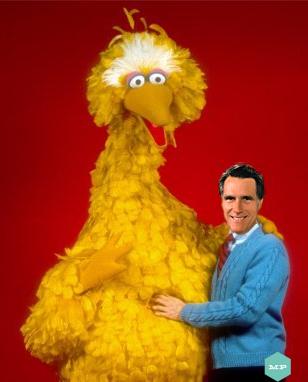 Shocker!  Mitt Prefers Big Bird over the Count