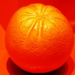 To a Piece of Fruit