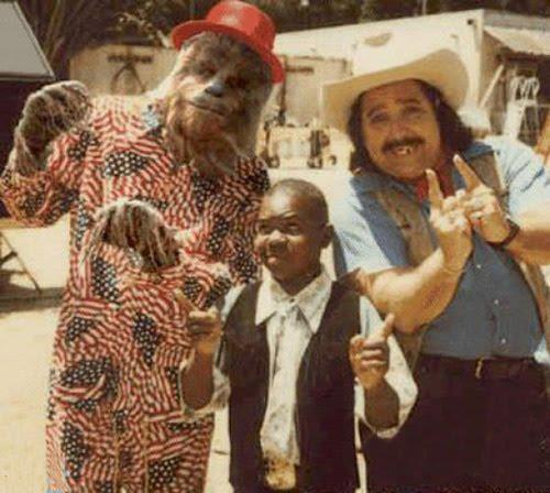 Chewbacca, Gary Coleman, and Ron Jeremy — all being better than you. (Source: ronjeremy.com)