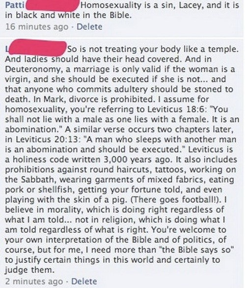 A marriage is only valid if the woman is a virgin