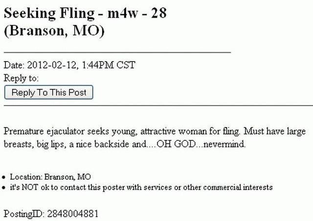 Seeking Fling