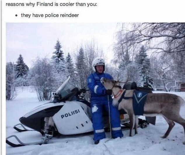 Reasons why Finland is cooler than you.