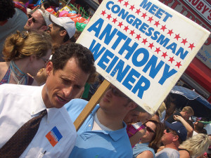 Weiner's Sexting Puts Him into Another Tight Spot