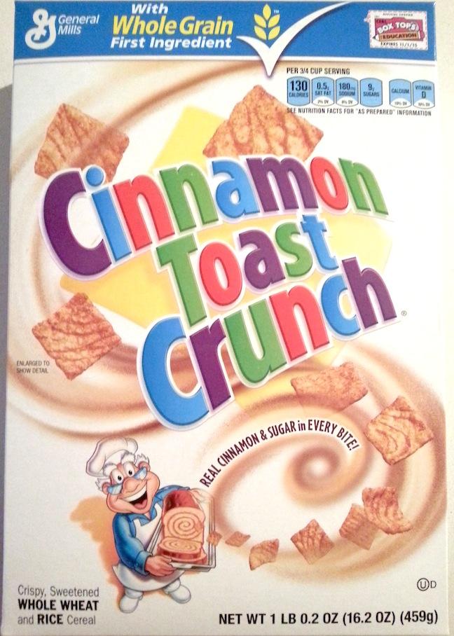 Cinnamon Toast Crunch Condones Cannibalism