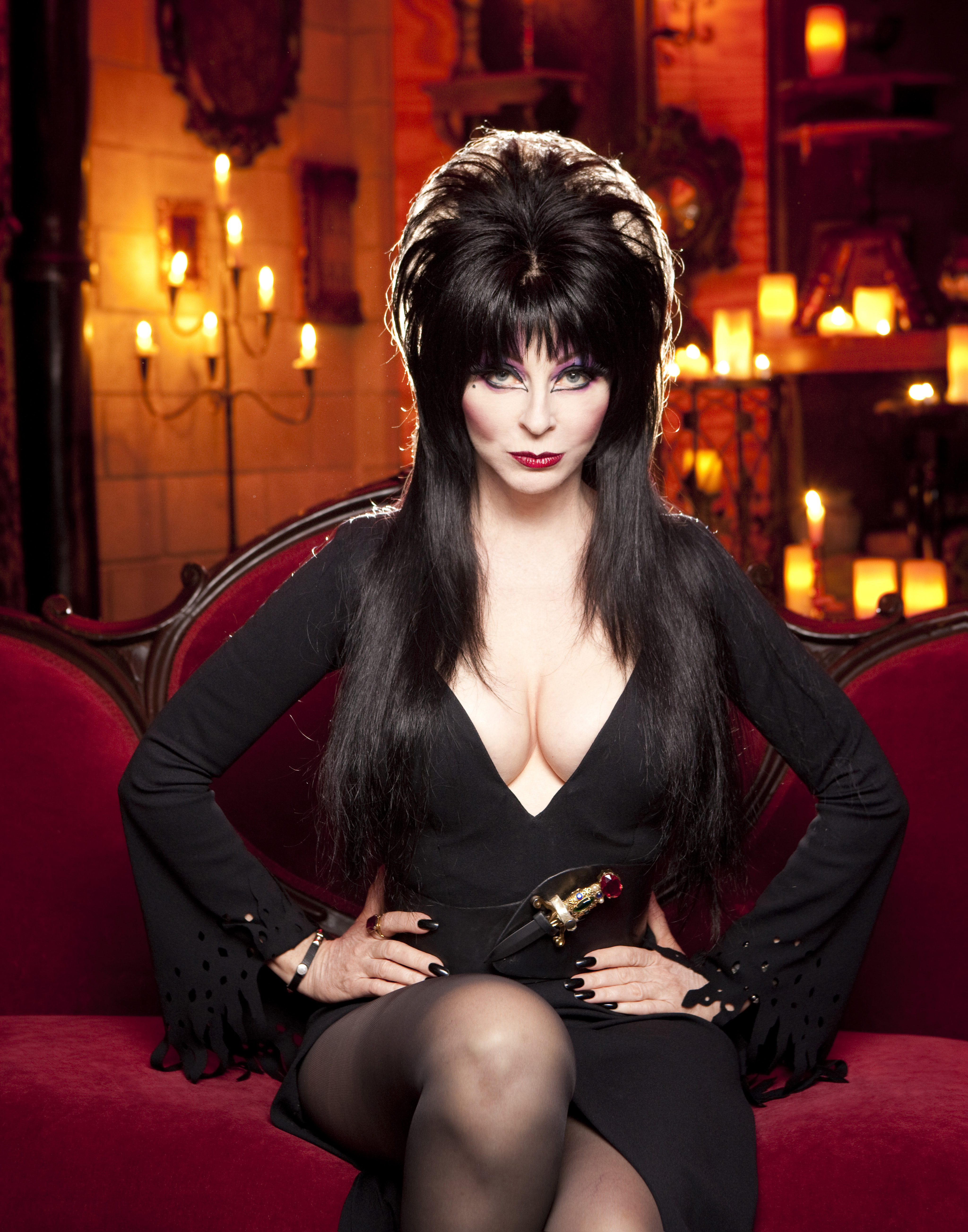 Elvira, Mistress of the Dark Rocks Halloween