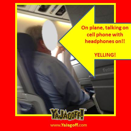 Airplane Cell-phoners