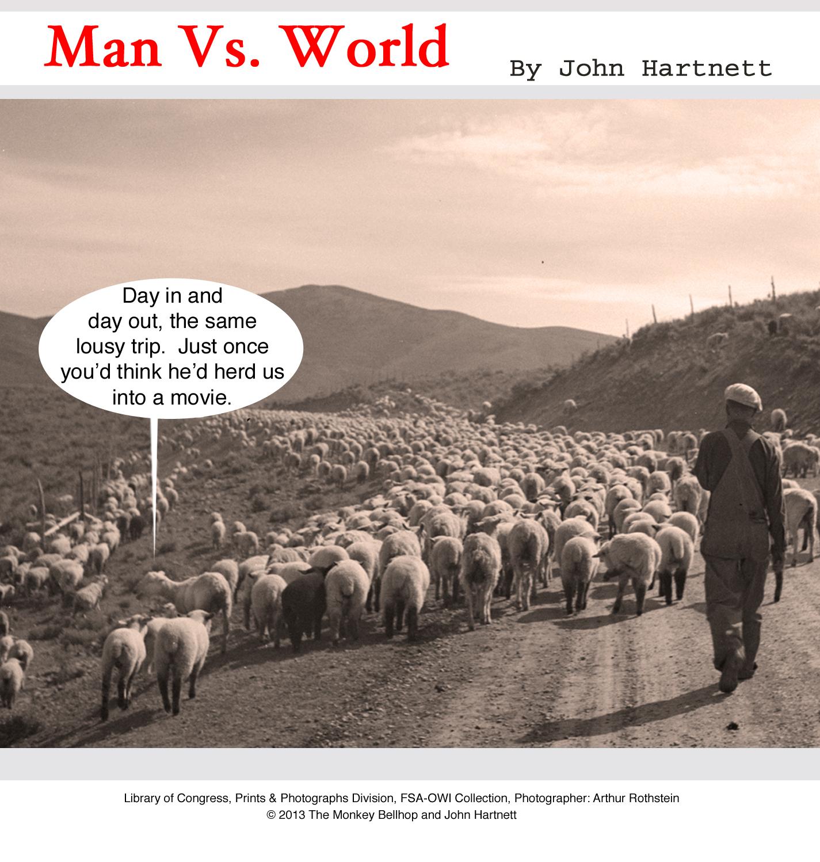 animal humor, sheep, herding, lambs, movies,