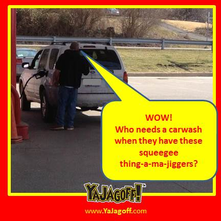 The New Squeegee Car Wash Method – While EVERYONE Waits!