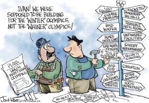 Deconstructing the Sochi Olympics