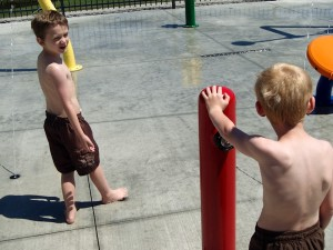 Splash Pad: The Safest Place To Freeze