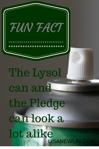 Lysol and Pledge