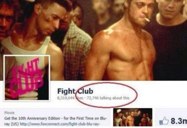 72,746 People Are Ignoring The First Rule of Fight Club
