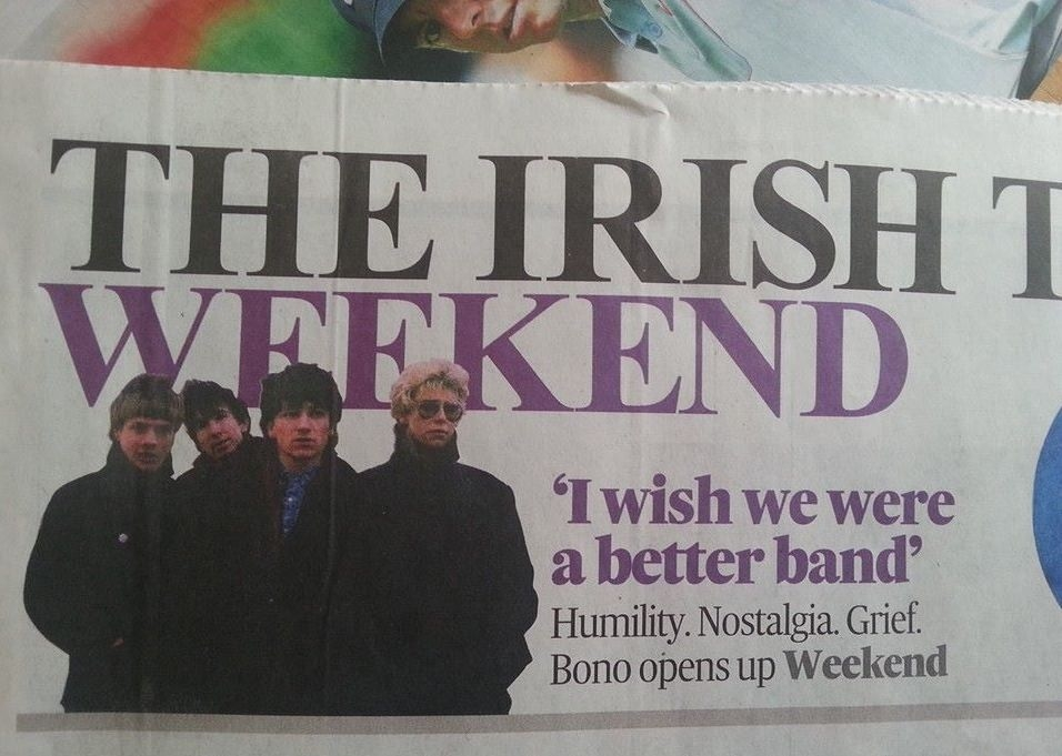 So do we Bono, so do we.