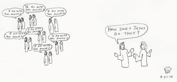 Phillip Dillman's Bible Cartoons