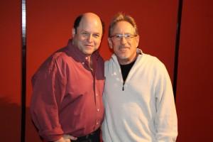 Jason Alexander and Bruce Ferber