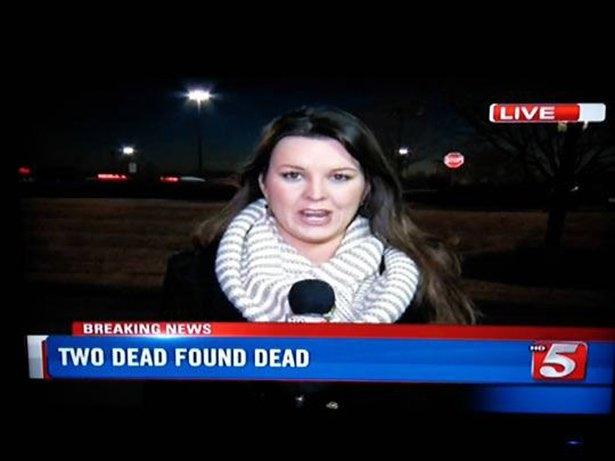 Live – Two Dead Found Dead