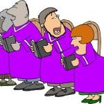 Church Choir Singers