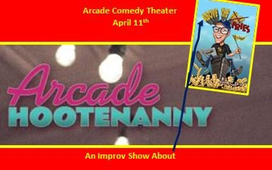 Pittsburgh's Arcade Comedy Theater Welcomes John Chamberlin and Above the Fries