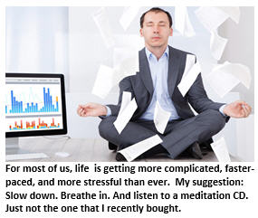Stressed out meditation