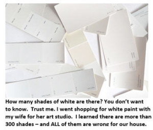 Fifty Shades of White