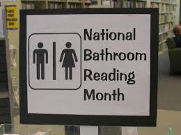 June is National Bathroom Reading Month!