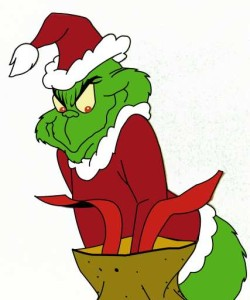 """SH 1087500001209_33WB12-14-20018:00 PMDr. Seuss' How the Grinch Stole ChristmasBest BetThe peaceful residents of Whoville have their Christmas interrupted by the greedy, grouchy Grinch in this classic adaptation of the Dr. Seuss tale """"How the Grinch Stole Christmas,"""" airing Friday, Dec. 14, on The WB Network (8-8:30 p.m. ET).5x6Color72dpiPhotos-Jay"""