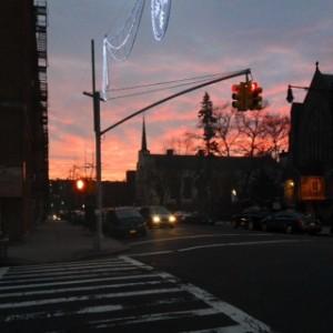 Sunset in Kingsbridge Bronx 2013
