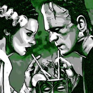Frankenstein's Monster and his mate renew vows despite The Bride's checkered past with Dracula