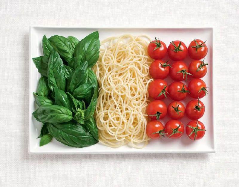 The Five Food Groups: Tofu, Sushi, Pesto, Godiva, and Sparkling Water