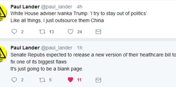 Tweet Wisdom – Paul Lander