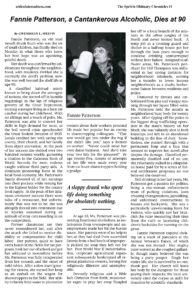 The Spelvin Obituary Chronicles