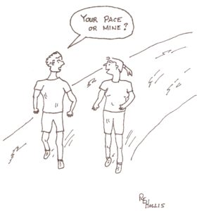 Runners vocabulary – explained.