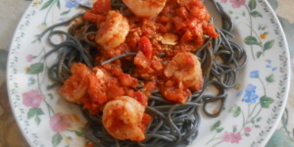 Squid Ink Spaghetti And Golden Ages