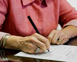 Image result for lawyer will signing
