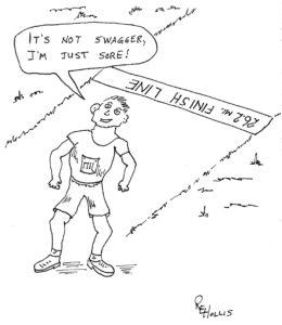Runner's oxymorons: