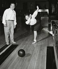 Image result for 60s bowling night